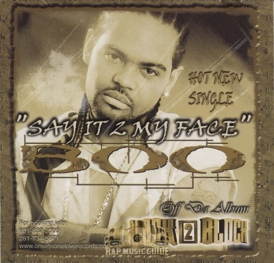 Boo The Boss Player - Say It 2 My Face