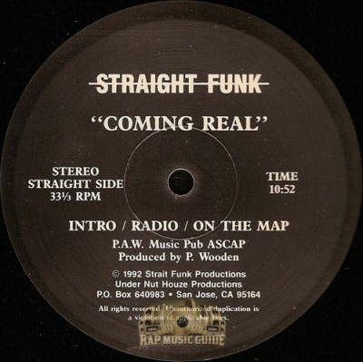 Straight Funk - Coming Real