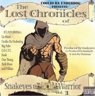 Snakeyes aka The Warrior - The Lost Chronicles Vol. 1