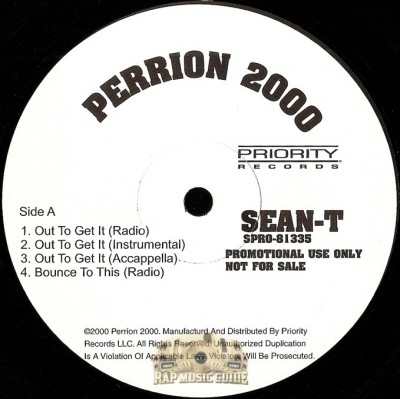 Sean T - Out To Get It