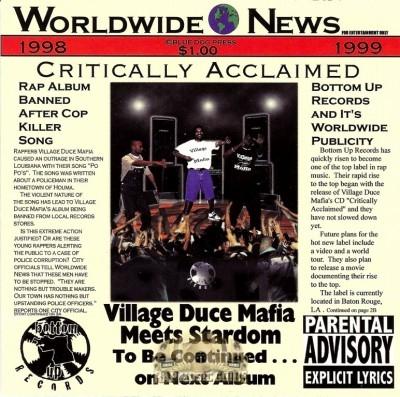 Village Duece Mafia - Critically Acclaimed