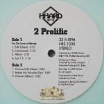 2 Prolific - For Da Love A Money