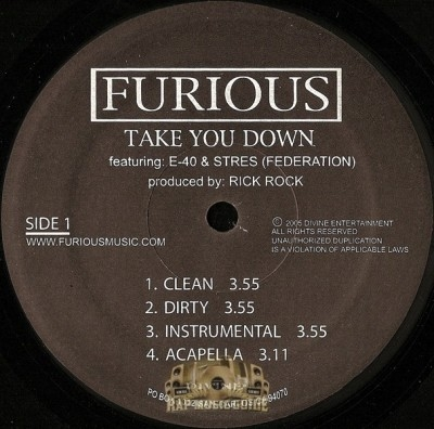 Furious - Take You Down