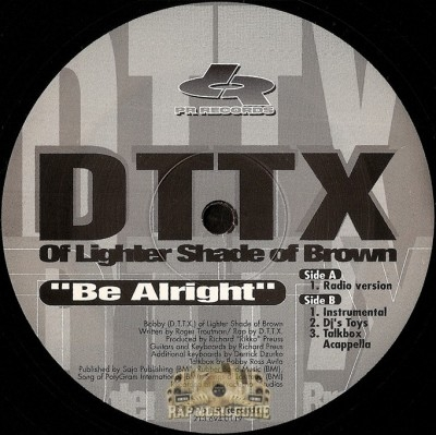 DTTX - Be Alright