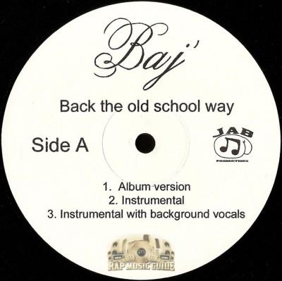 Baj - Back The Old School Way
