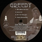 Greedy - Million Dollar Game Plan EP