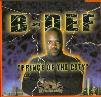 B-Def - Prince Of The City