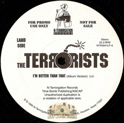 Terrorists - I'm Better Than That / South Park