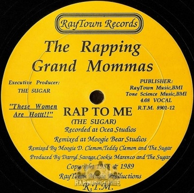 The Rapping Grand Mommas - Rap To Me