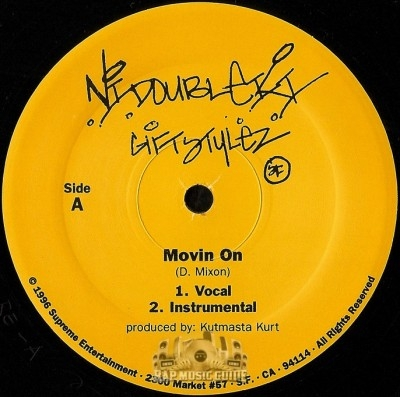 N.I. Double K.I. - Movin On / No Understanding