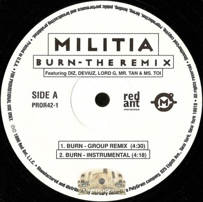 Militia - Burn - The Remix