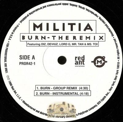 Militia - Burn - The Remix