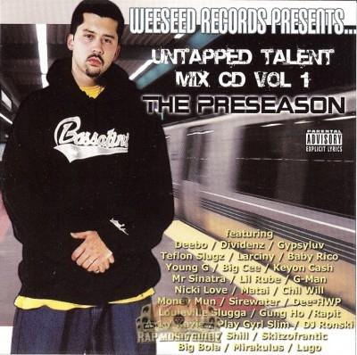 Untapped Talent Mix CD Vol. 1 - The Preseason