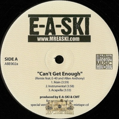 E-A-Ski - Can't Get Enough Remix