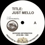 Just Mello - U Can't Miss Me / Happiness
