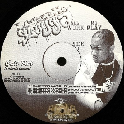 Louieville Slugga - All Work No Play EP