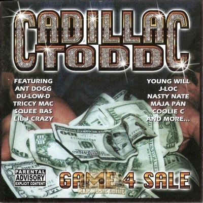 Cadillac Todd - Game 4 Sale