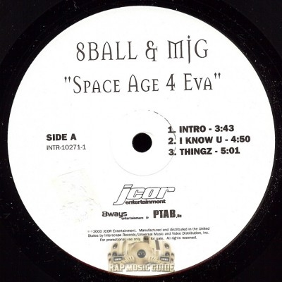 8Ball & MJG - Space Age 4 Eva