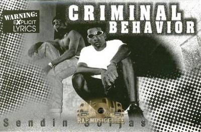 Criminal Behavior - Sendin Soljas