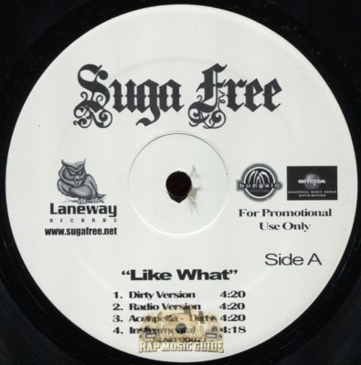 Suga Free - Like What/Hands Up