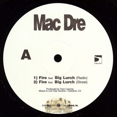 Mac Dre - Fire, Rapper Gone Bad