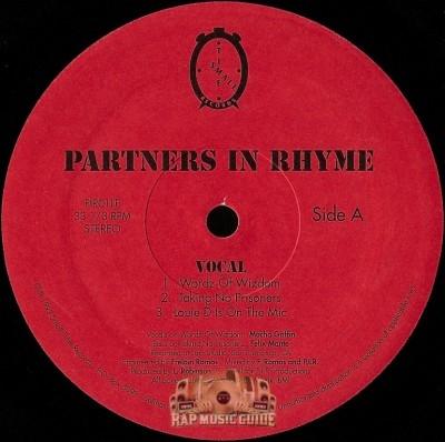 Partners In Rhyme - Wordz Of Wizdom