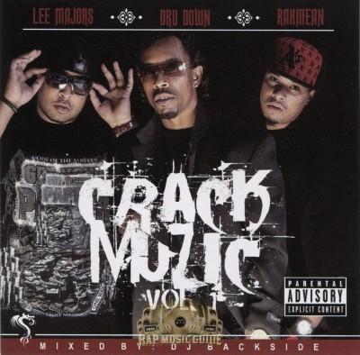 Lee Majors, Dru Down, Rahmean - Crack Muzic Vol. 1