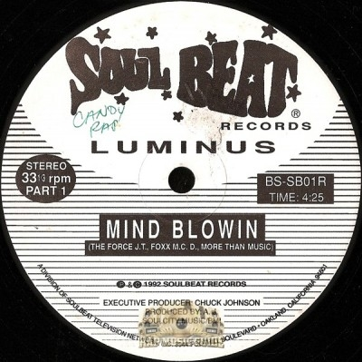 Luminus - Mind Blowin