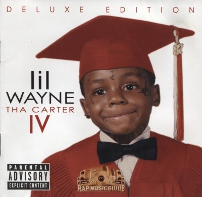 lil wayne tha carter iv deluxe edition cd rap music