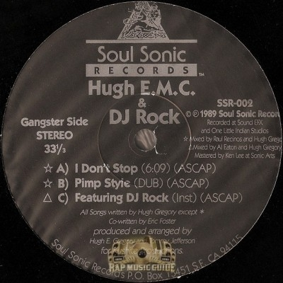 Hugh E.M.C. & DJ Rock - I Don't Stop