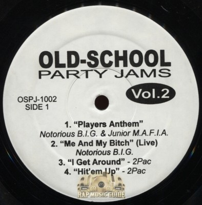 Old-School Party Jams - Vol. 2