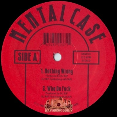 Mental Case - Nothing Wrong EP