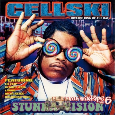 Cellski - Freestyle Mixtape Vol. 6: Stunna-Vision