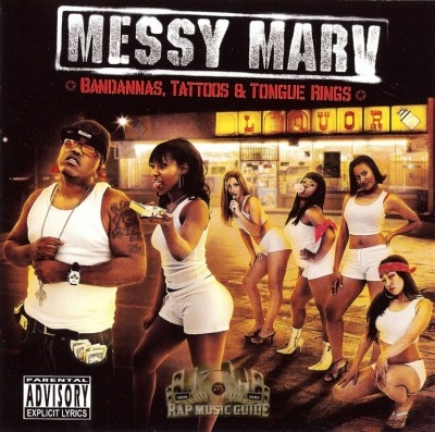 Messy Marv - Bandannas, Tattoos & Tongue Rings