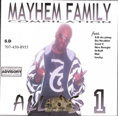 Mayhem Family - All As 1