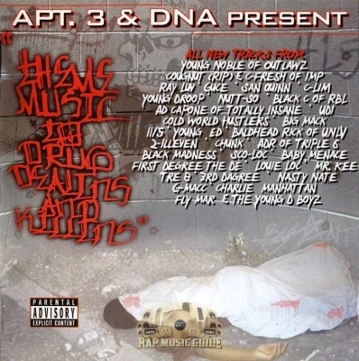 Apt. 3 & DNA Present - Theme Music To Drug Dealins And Killins