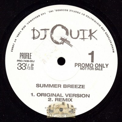 DJ Quik - Summer Breeze
