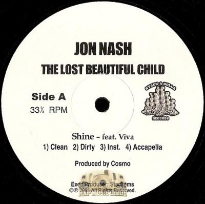 Jon Nash - The Spokesman EP