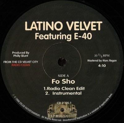 Latino Velvet - Fo Sho