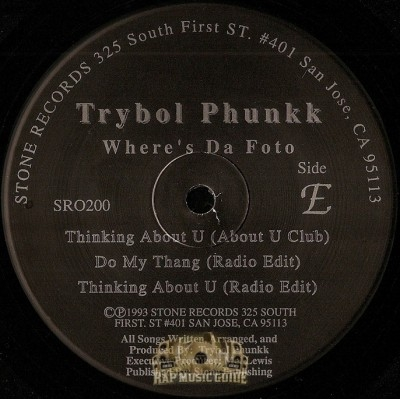 Trybol Phunkk - Where's Da Foto