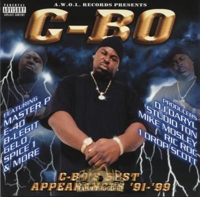 C-Bo - C-Bo's Best Appearances '91-'99