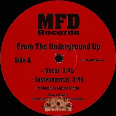 Lyrical Storm - From The Underground Up