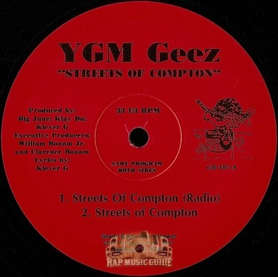 YGM Geez - Streets Of Compton