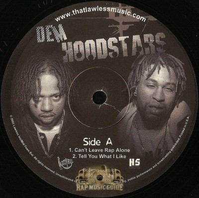 Dem Hoodstarz - Can't Leave Rap Alone